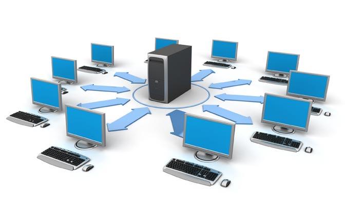 Схема размещения компьютеров фото