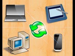 Файлообмен между различными устройствами фото